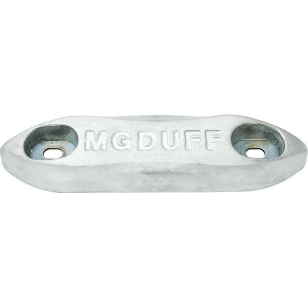 "MG Duff ZD78B Zinc Anode 4Kg ""Backing Sheet, Nuts & Washers"""