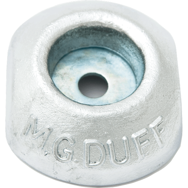 "MG Duff ZD56 4' Dia Disc Anode ""Backing Sheets, Nuts & Washers"""