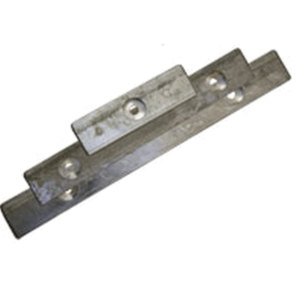 MG Duff ZD42 6' Strip Anode Drilled 1 Hole
