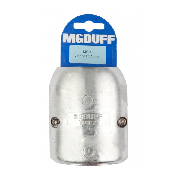 MG Duff MGD 2' Shaft Anode C/W Insert