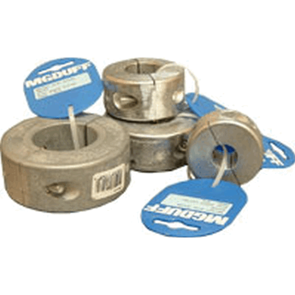 MG Duff ZSC50 50mm Dia Zinc Shaft Collar