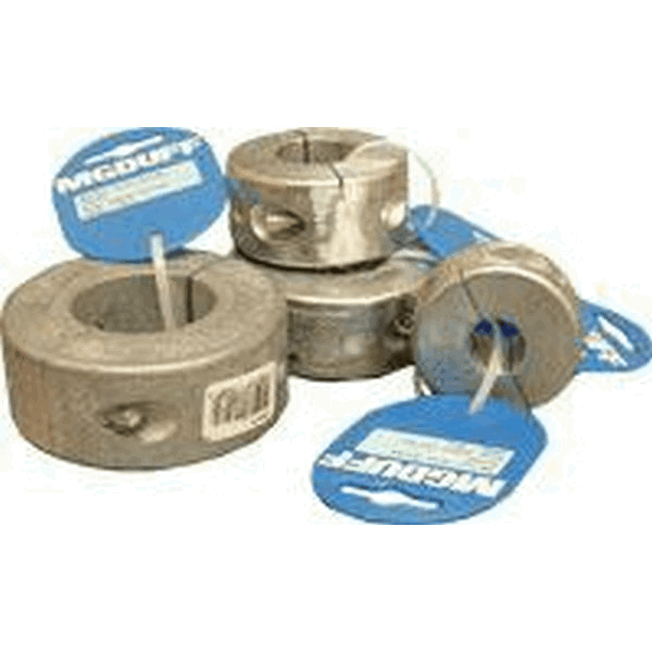 MG Duff Zinc Shaft Collar Anode To Suit Shaft Dia 50mm