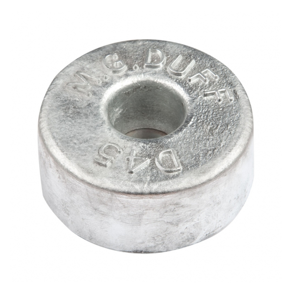 MG Duff Zinc Hull Anode Disc 4.5 Kgs Weight 130mm