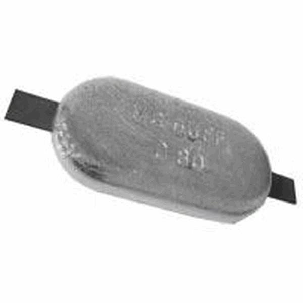 MG Duff Magnesium Hull Anode 2Kg Net Weight Low Profile