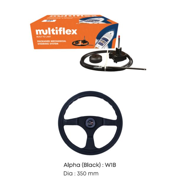 Multiflex Mechanical Steering Kits-55HP-17