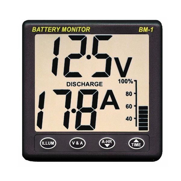 Nasa Marine BM-1 Clipper Battery Monitor (12V)