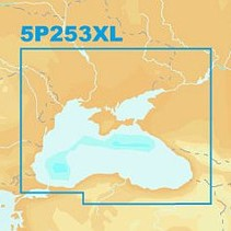 Navionics Platinum+ XL - CF Card - Black Sea