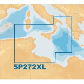 Navionics Platinum+ XL - CF Card - Central Mediterranean