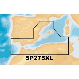 Navionics Platinum+ XL - CF Card - Mediterranean South West