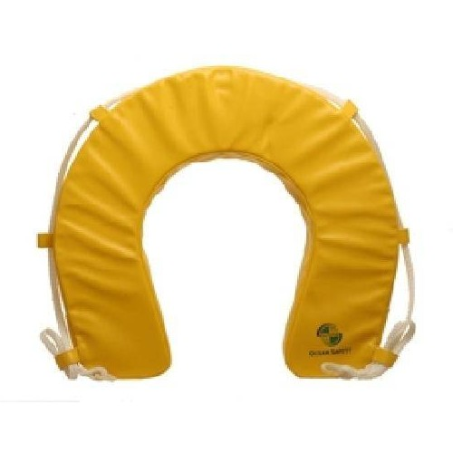 Ocean Safety Soft Horseshoe Buoy Only - Yellow
