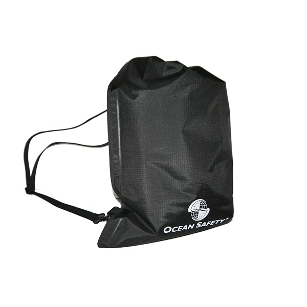 Ocean Safety 15Ltr Slim Grab Bag - Black