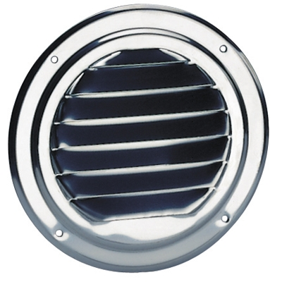 St. Steel Ventilator Round 125mm