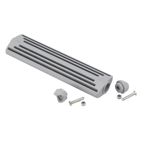 Plastimo Ladder Step + 2 Grey Fittings Tube Diameter 22mm
