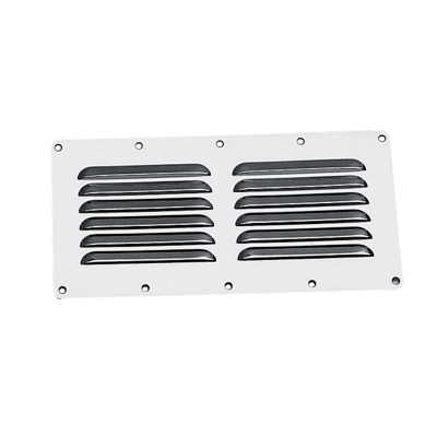 St. steel ventilator, rectangular 115 x 230mm
