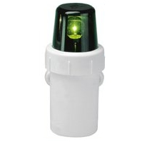 Battery Nav Light - GREEN STARBOARD