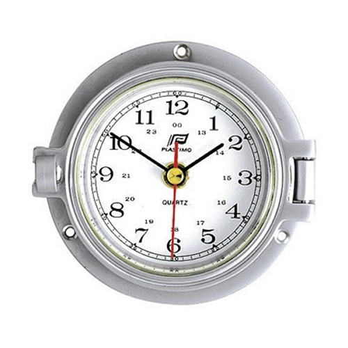 Plastimo Clock Matt Chrome 3inch