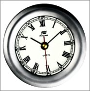 POLISH CHROME 4 CLOCK