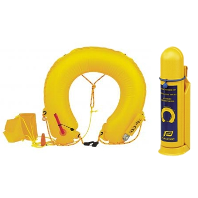 Plastimo Inflatable Horseshoe Buoy with Light