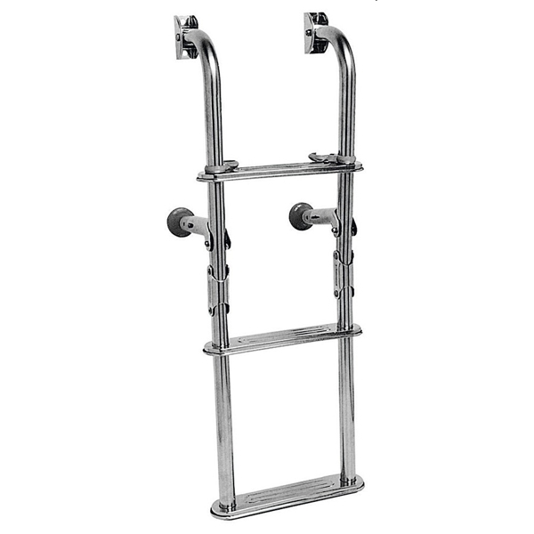 Plastimo Folding Stainless Steel  Bath Ladder 1 + 2 Steps