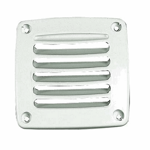 Plastimo Ventilator Square Topline 118 x 118mm White - PACK 2