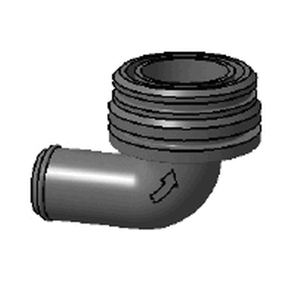 ELBOW INLET MALE D25MM/BILGE PUMP