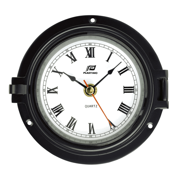Plastimo Clock Black Case 4.5inch