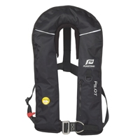 Inflatable Lifejacket Pilot Race 150n Hydrostatic With Crutch St