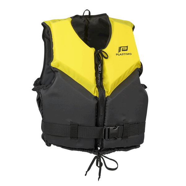Plastimo Trophy Buoyancy Aid Large (70-90kg) Yellow / Black