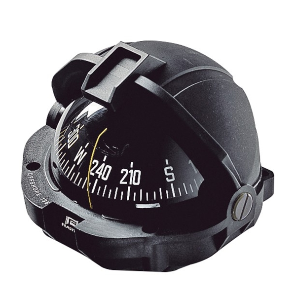 Plastimo Offshore 105 Compass Black with Black Conical Card