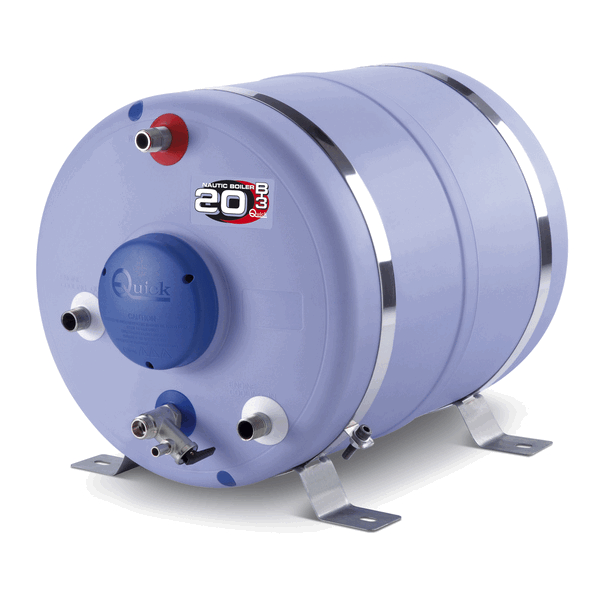 Quick Water Heater 80 litre 1200W Round shape with heat exch