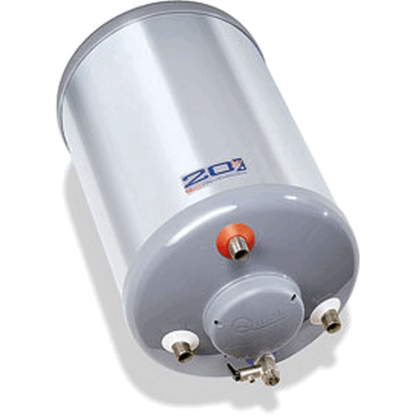 Quick Water Heater 50 litre 1200W Round shape with heat exchange