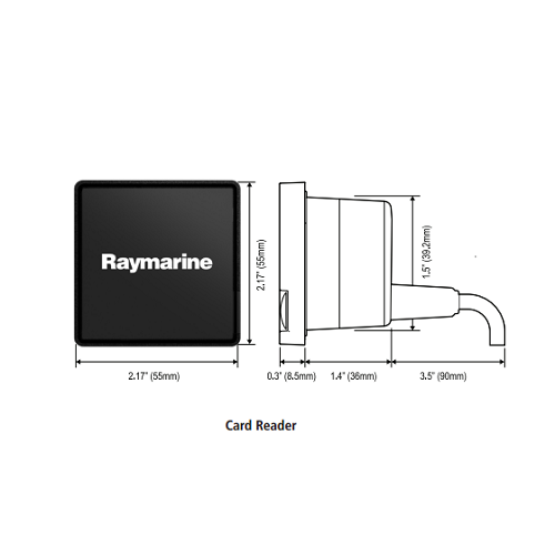 Raymarine RCR-2 gS Series Micro SD Card Reader