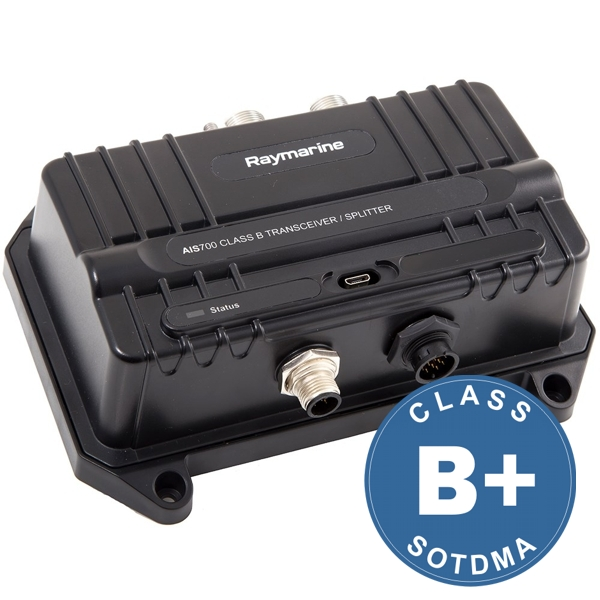 Raymarine AIS700 Class B Transceiver With Integrated Splitter