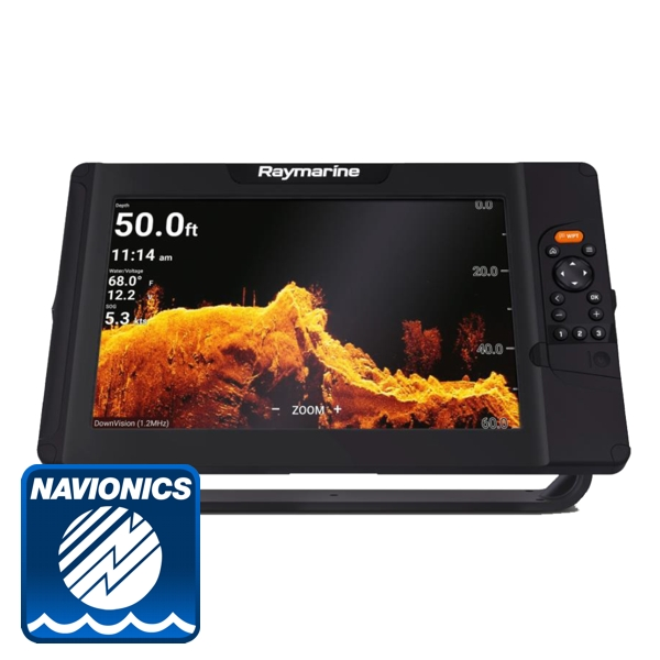 Raymarine Element 12 HV With Navionics PLUS Download Chart (No Transducer)