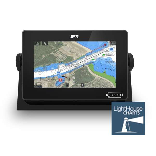Raymarine AXIOM+ 7 MFD - Display Only With LightHouse Download Chart