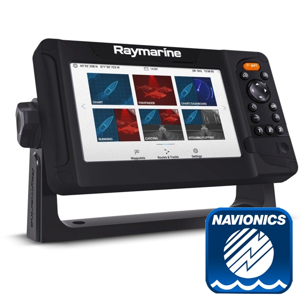 Raymarine Element 7S with Navionics Small Download Chart
