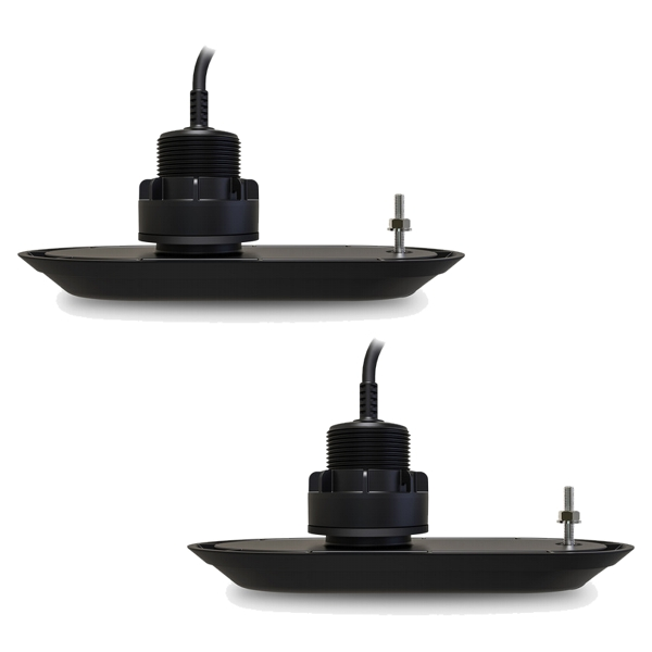 Raymarine RV-312 RealVision Thru-Hull Plastic 12Deg 3D Port & Starboard Pair of Transducers (10m Cable)