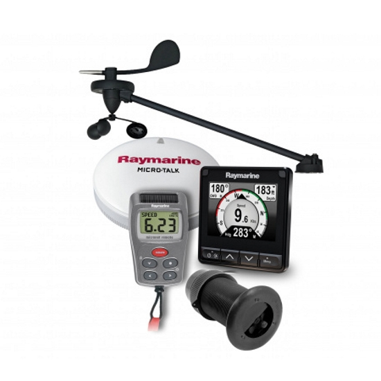 Raymarine i70s Wireless Wind & DST800 and Backbone Kit