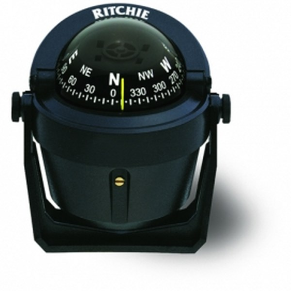 Ritchie Explorer B-51 2.75 Inch Dial Bracket Mount - Black