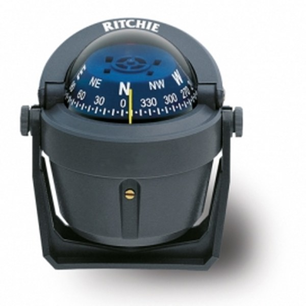 Ritchie Explorer B-51 2.75 Inch Dial Bracket Mount - Grey