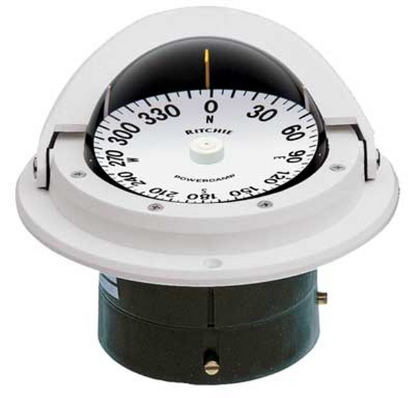 "Ritchie ""Ritchie Voyager® F-82, 3"" Dial Flush Mount - White"""