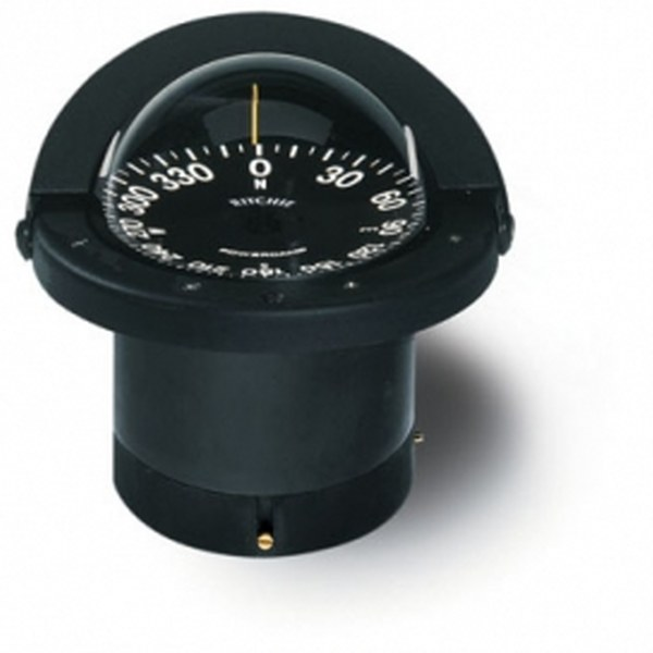 Ritchie Navigator FN-201 4.5 Inch Dial Flush Mount - Black