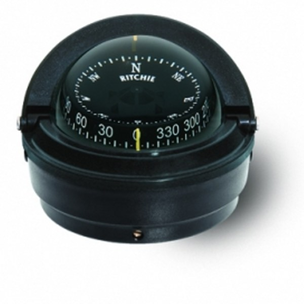 "Ritchie ""Ritchie Voyager® S-87, 3"" Dial Surface Mount - Black"""