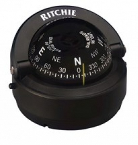 Ritchie Explorer Off 90 Deg Compass S-OFF90 2.75 Inch Dial