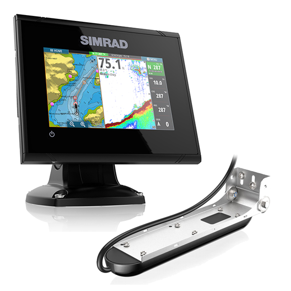 Simrad GO5 5 Inch Plotter / Sounder With Total Scan Transducer