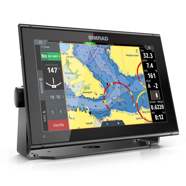 Simrad GO12 XSE 12 Inch Multi-touch Chart Plotter with built in Echosounder - No Transducer