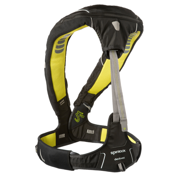 Spinlock Deckvest 5D Hammar 275N With Harness - Size 3 - Black