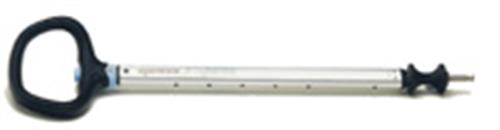 Spinlock 600mm-900mm Silver A-symmetric Handle Tiller Extension With Diablo Universal J