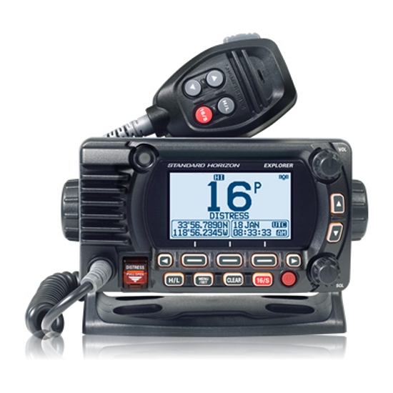 Standard Horizon GX1800GPS/E Fixed DSC VHF With GPS