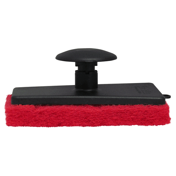 Starbrite Scrubber Medium Red